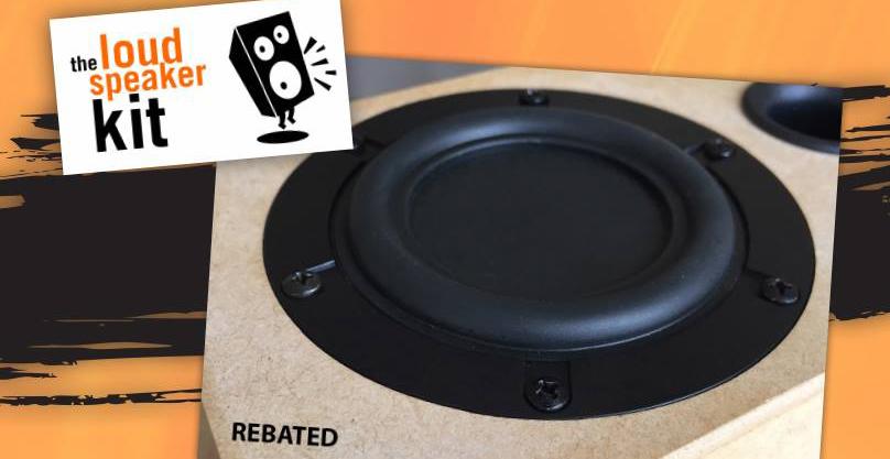 Rebated speaker driver